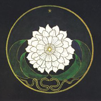 Mandala Golden Flower, C.G. Jung